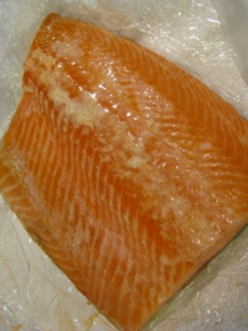 Smoked trout from Thurn's