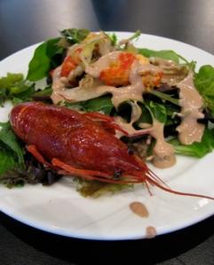 Crawfish salad