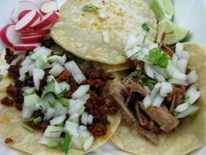 The first of many many taco photos