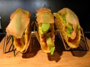Tuna Tar Tar Tacos