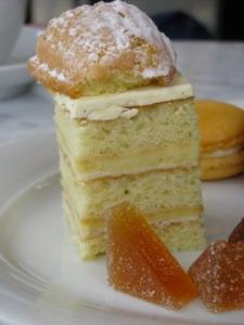 Vanilla bean madeleine