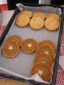 Bakewell and Treacle Tarts