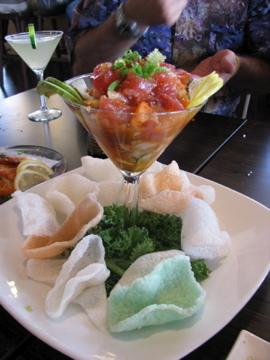 Asian Ceviche