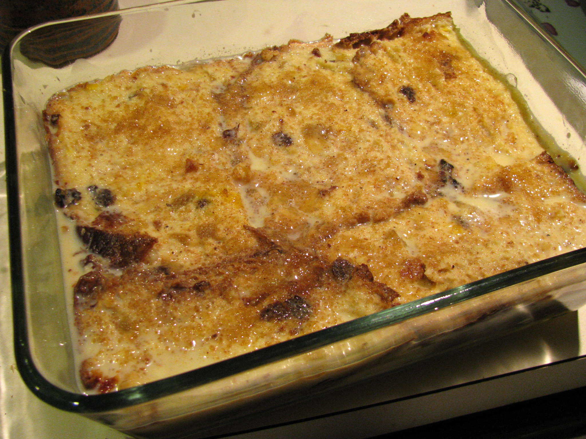 Here are a couple of basic bread and butter pudding recipes from Delia ...