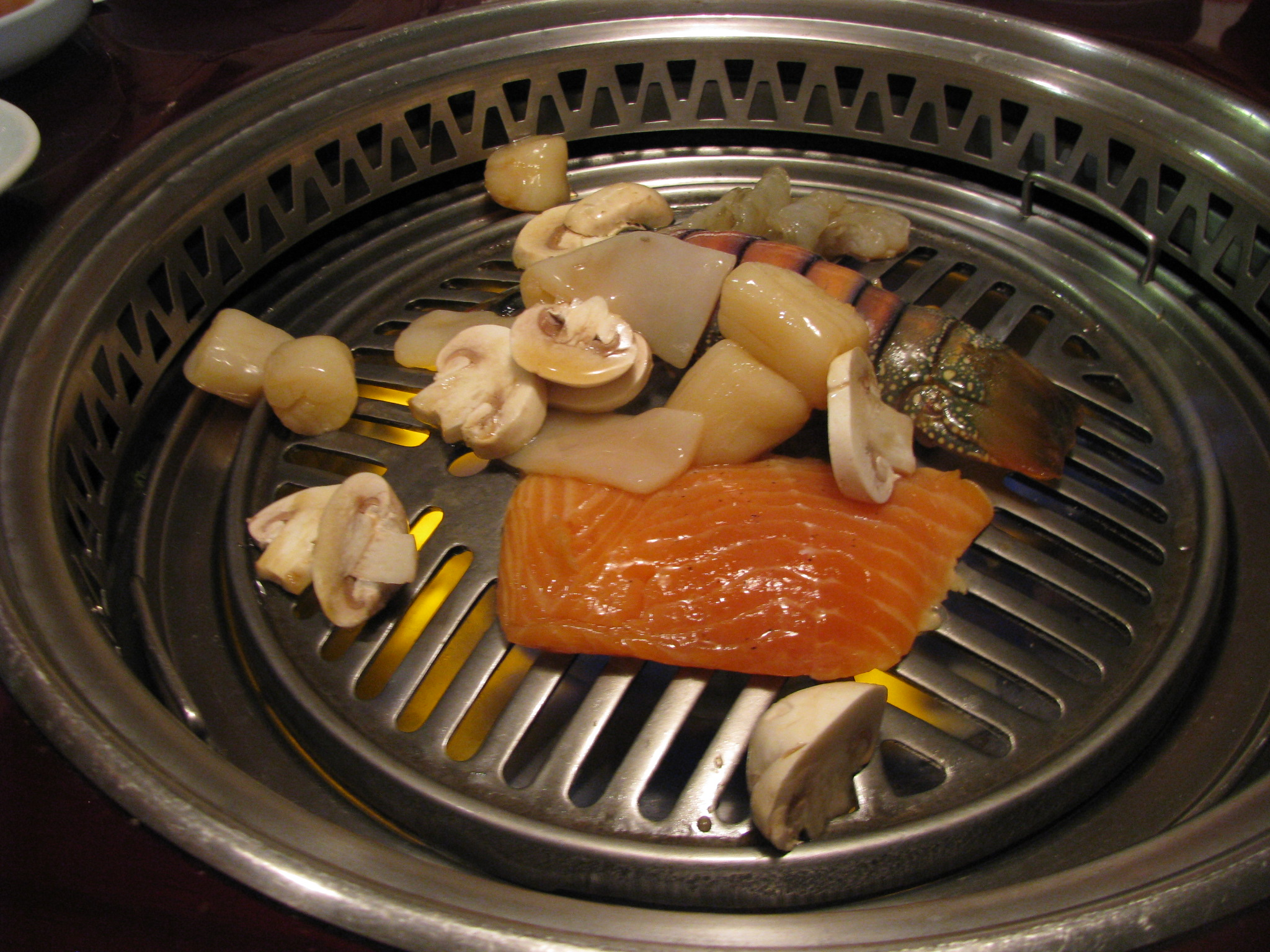 Korean barbecue columbus food adventures - How to build a korean bbq table ...